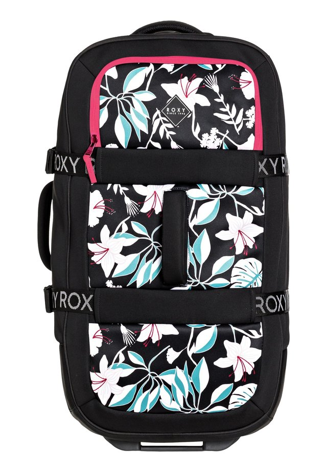 ROXY™ IN THE CLOUDS 87L - GROSSER NEOPREN-KOFFER MIT ROLLEN ERJBL - Valise à roulettes - true black story of sunshine