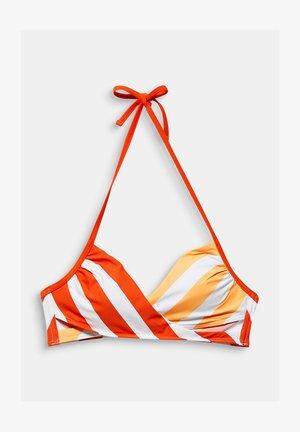 Bikini top - coral orange
