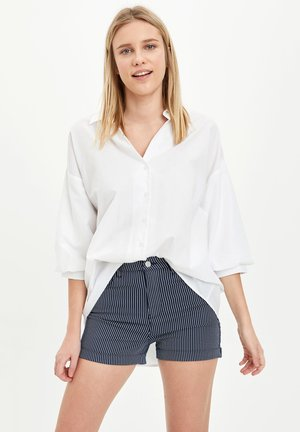 DEFACTO WOMAN NAVY - Shorts - indigo