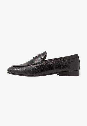 CALIBRO - Elegantní nazouvací boty - black