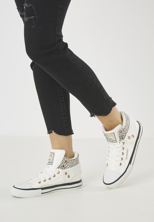 ROCO - Sneakers basse - white/cheetah