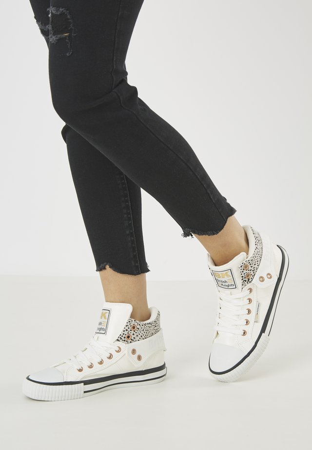 ROCO - Baskets basses - white/cheetah