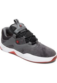 DC Shoes - Skate shoes - GREY/BLACK/RED - 2