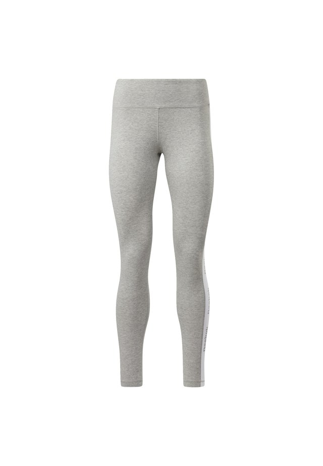 Training Essentials Linear Logo Leggings - Legginsy - Grey