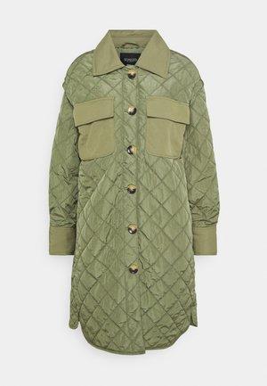 COAT - Classic coat - olivine