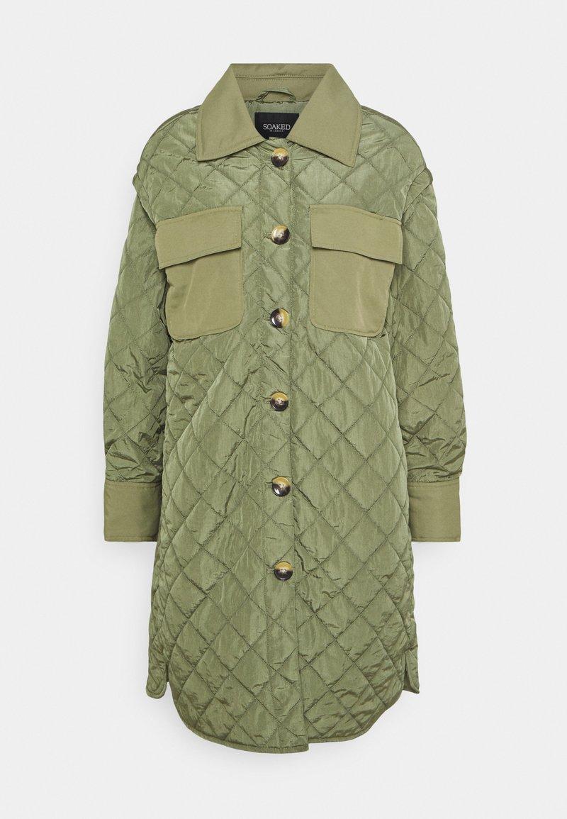 Soaked in Luxury - COAT - Classic coat - olivine