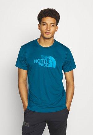 MENS REAXION EASY TEE - Print T-shirt - moroccan blue