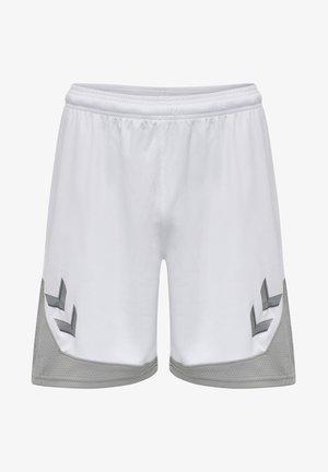 POLY - Korte sportsbukser - white