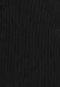 Dorothy Perkins Curve - CURVE LOUNGE WRAP - Vest - black - 2