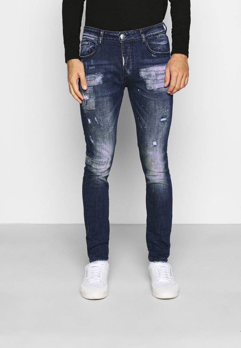 Alessandro Zavetti - MIRANO CARROT FIT - Slim fit jeans - blue