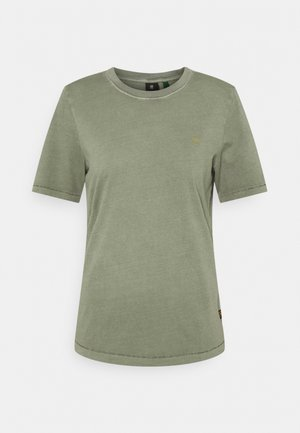 REGULAR FIT TEE OVERDYED - Basic T-shirt - shamrock