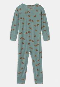 Lindex - ONESIES BABY SQUIRREL UNISEX - Pyjamas - light dusty aqua - 1