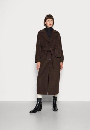 DOSILIA COAT - Classic coat - chocolate brown