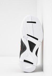 Puma - AURIZ - Sports shoes - black/nrgy red/white - 4