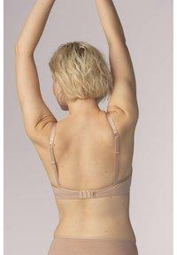 Mey - BÜGEL BH SERIE EASY COTTON - Push-up bra - cream tan melange - 1