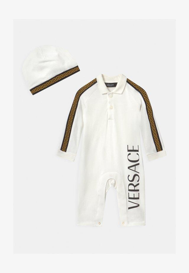 REGALO SET UNISEX - Bonnet - bianco lana