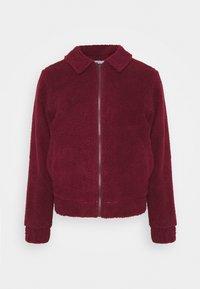 LEO BORG ZIP JACKET - Winter jacket - red