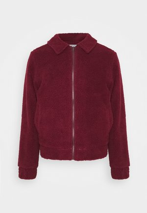 LEO BORG ZIP JACKET - Winterjas - red