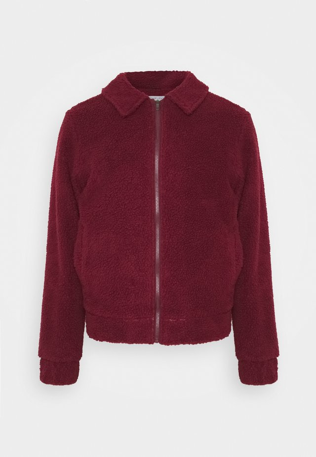 LEO BORG ZIP JACKET - Vinterjakke - red