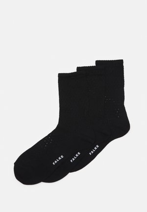 POINTELLE - Socks - black