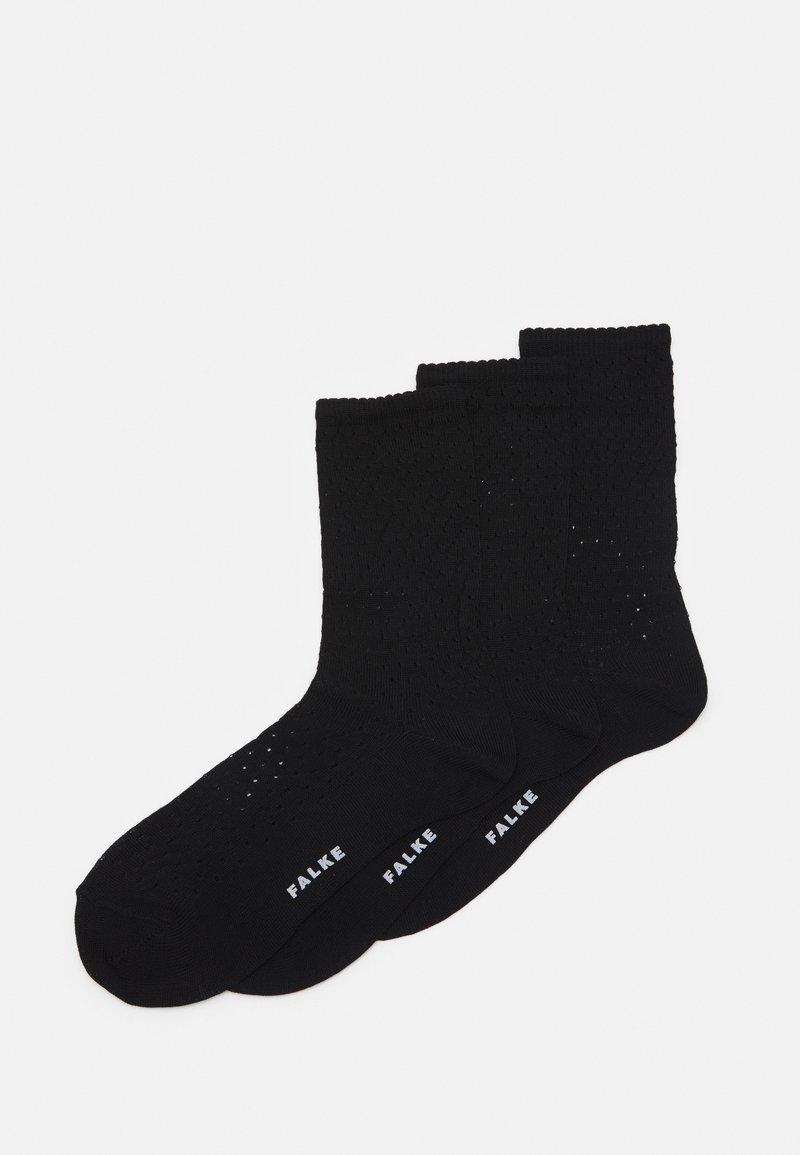 FALKE - POINTELLE - Socks - black