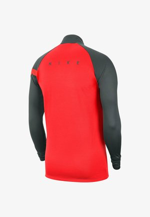 DRI-FIT ACADEMY - Long sleeved top - grau/rot (977)