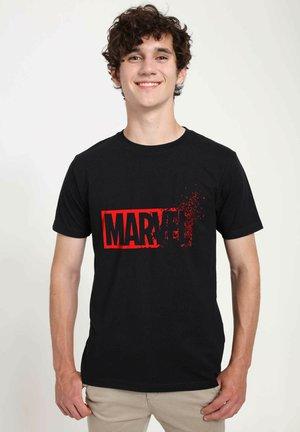 MARVEL UNISEX DUST MARVEL - T-shirt print - black