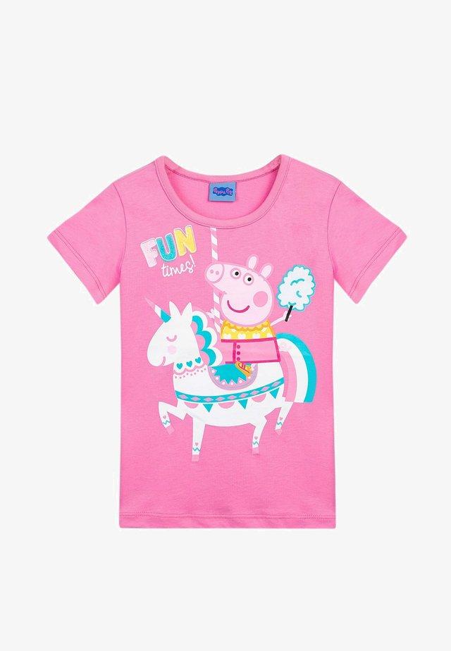 PEPPA PIG - Print T-shirt - fuchsia pink