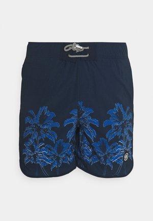 JJIFIJI JJSWIM PALM TREES - Swimming shorts - navy blazer