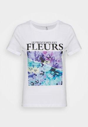 ONLPENELOPE  - Print T-shirt - bright white