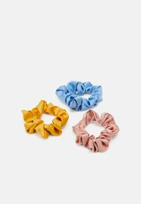 Pieces - PCDALIANA SCRUNCHIE 3 PACK - Hair styling accessory - blue surf - 0