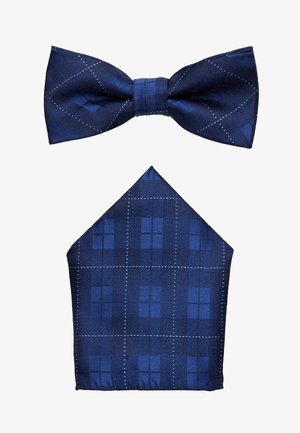 ONSTOBIAS BOW TIE BOX HANKERCHIE SET - Lommetørklæde - dress blues