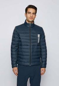 BOSS - BASALT - Down jacket - dark blue - 0