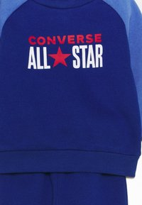 Converse - CREW TRANS SET UNISEX - Tracksuit - blue - 3