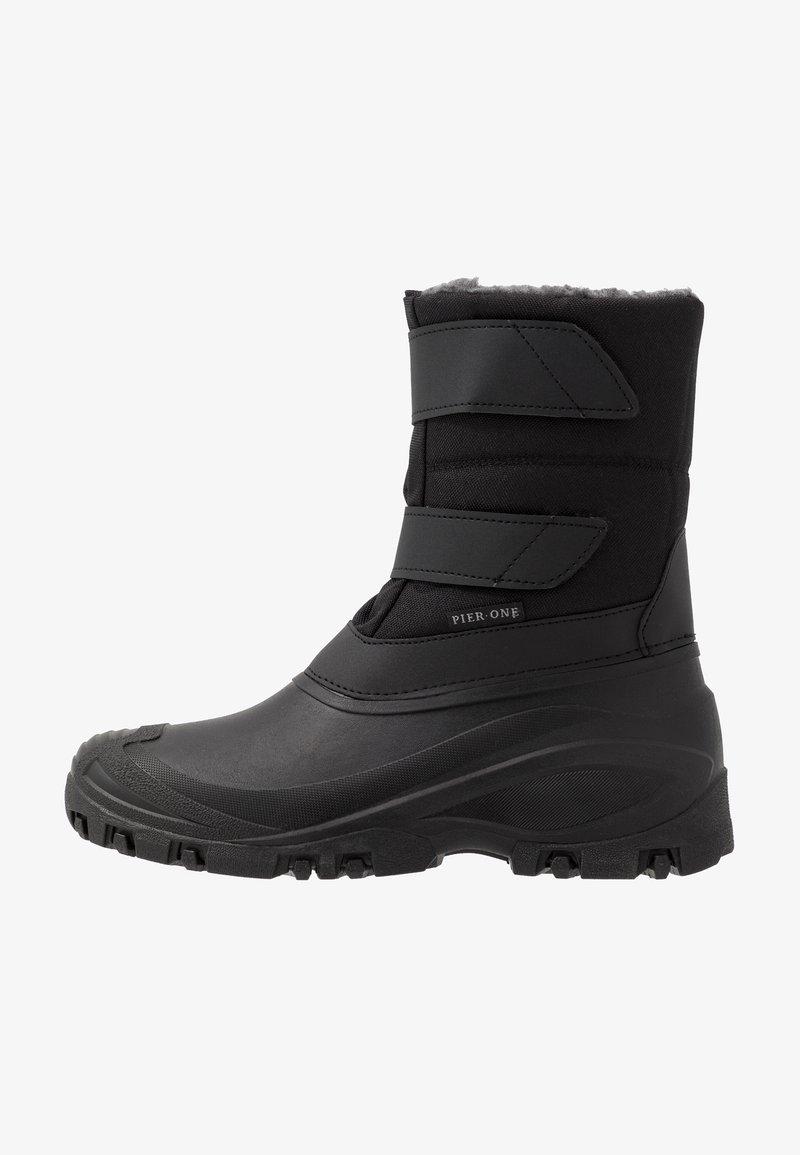 Pier One - UNISEX - Snowboots  - black
