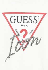 Guess - JUNIOR LOGO - Bluza - white clay - 3