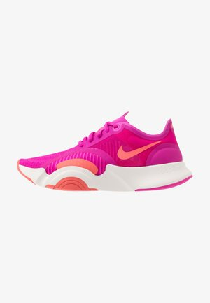 SUPERREP GO - Zapatillas de entrenamiento - fire pink/magic ember/summit white