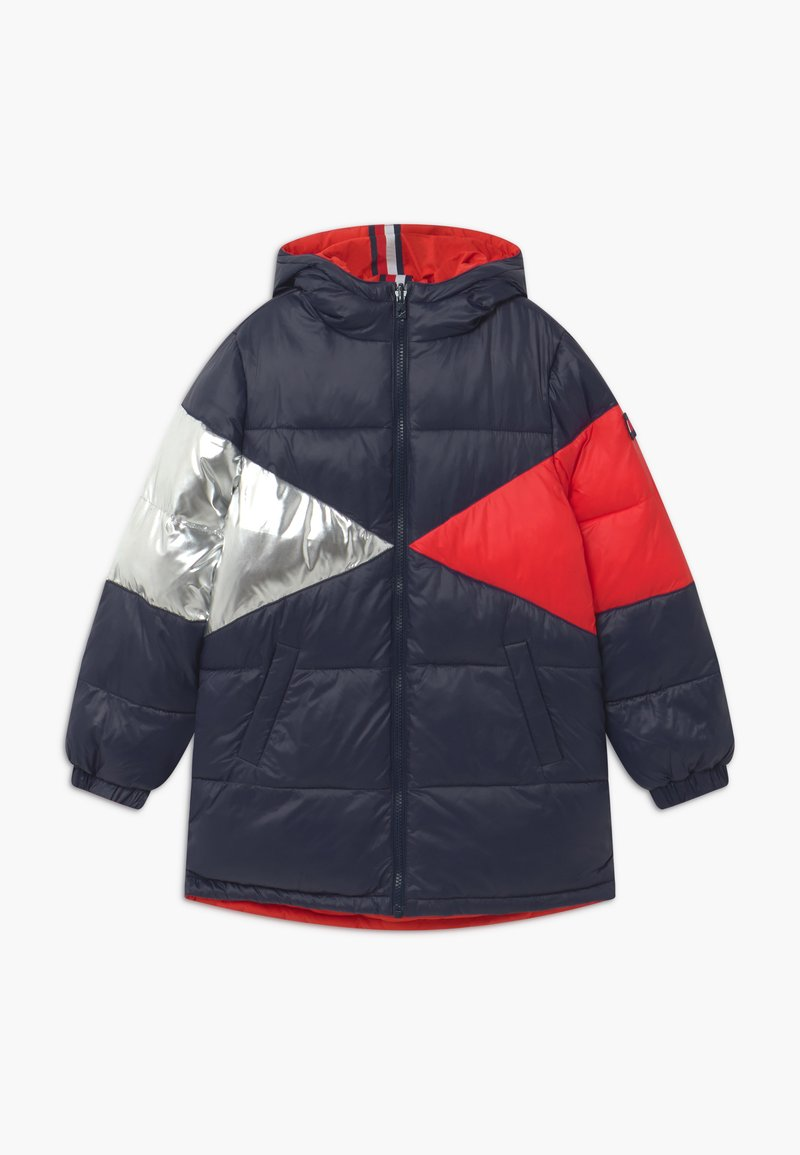 Tommy Hilfiger - REVERSIBLE ICONIC PUFFER - Winter coat - blue