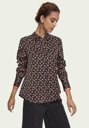 Button-down blouse - combo e
