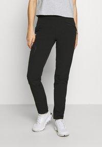 Salomon - WAYFARER TAPERED PANT - Outdoor trousers - black - 0