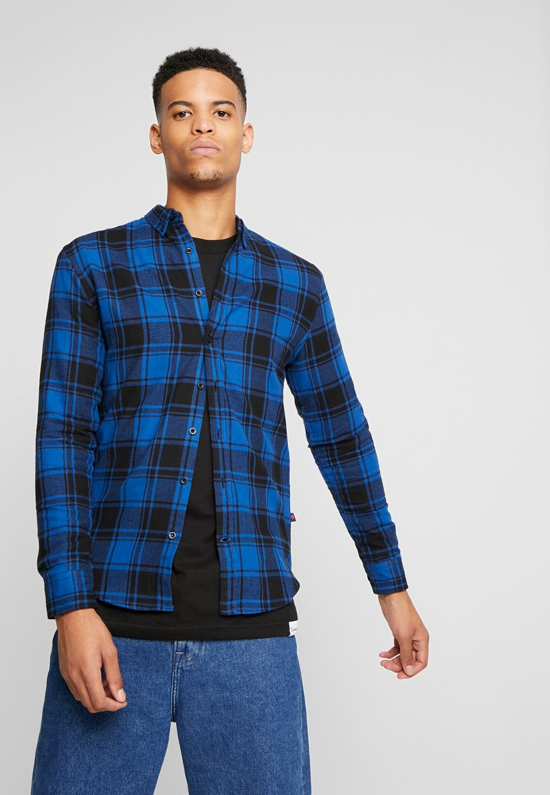 Denim Project - CHECK  - Skjorta - blue
