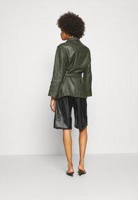 Ibana - MAE - Leather jacket - green - 2