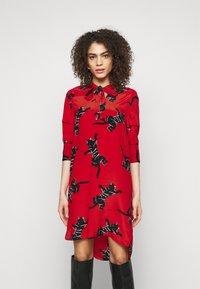Diane von Furstenberg - LYNN DRESS - Vapaa-ajan mekko - medium red - 0