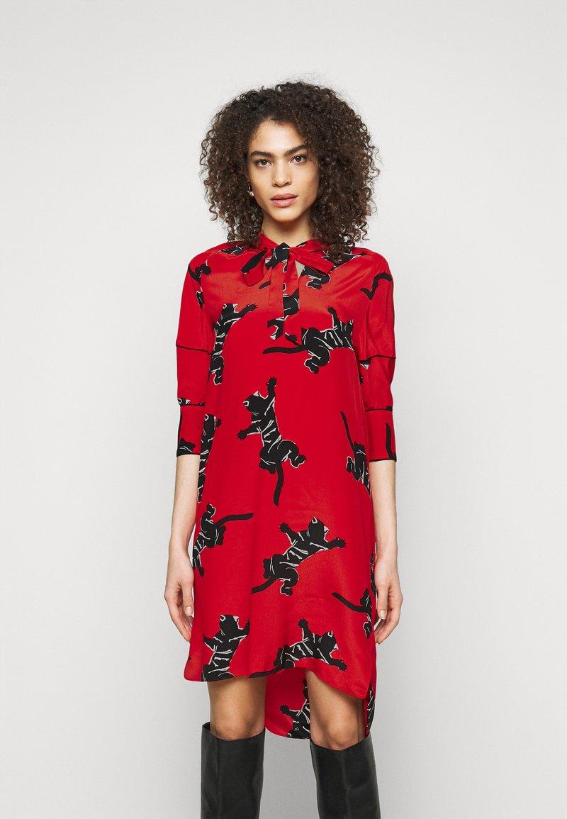 Diane von Furstenberg - LYNN DRESS - Vapaa-ajan mekko - medium red