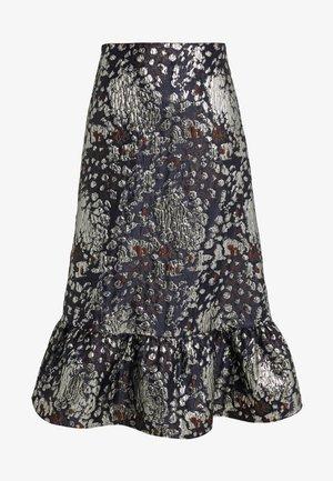 COIX - Áčková sukně - night blue