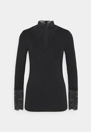 MARICA - Long sleeved top - black