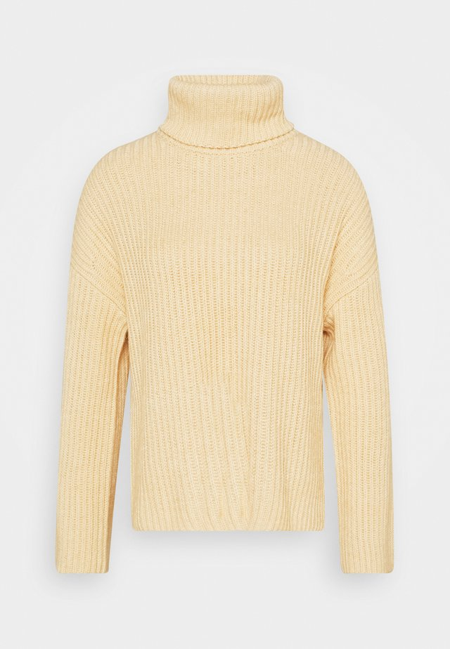 JUMPER TURTLENECK - Jumper - light soft sand