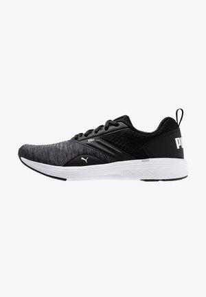 NRGY COMET - Neutral running shoes - black/white
