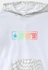 Converse - CHECKER HOODIE - Sweatshirt - white - 2
