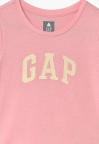 GAP - TODDLER GIRL LOGO 2 PACK - T-shirt con stampa - light shell/pink - 3